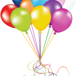 Balões – Conjunto de Balões Coloridos 14 PNG