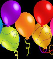 Balões - Conjunto de Balões Coloridos 15