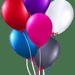 Balões – Conjunto de Balões Coloridos 2 PNG