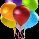 Balões – Conjunto de Balões Coloridos 3 PNG