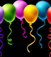Balões - Conjunto de Balões Coloridos 6