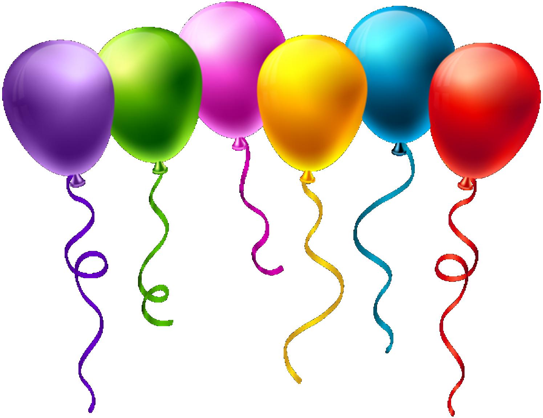 Baloes Conjunto De Baloes Coloridos 6 Png Imagens E Moldes Com Br