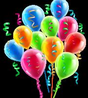 Balões - Conjunto de Balões Coloridos 8