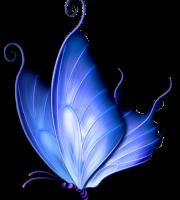 Borboletas - Borboleta Azul
