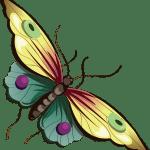 Borboletas – Borboleta Bonita Colorida 7 PNG