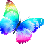 Borboletas – Borboleta Bonita Colorida 8 PNG