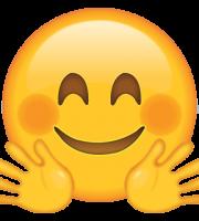 Emoji Abraçando
