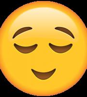 Emoji Aliviado
