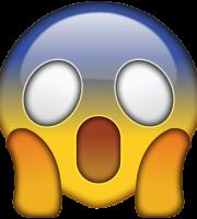 Emoji Aterrorizado