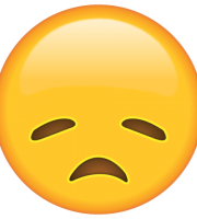 Emoji Desapontado