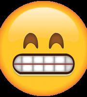 Emoji Olhos Fechados Sorrindo