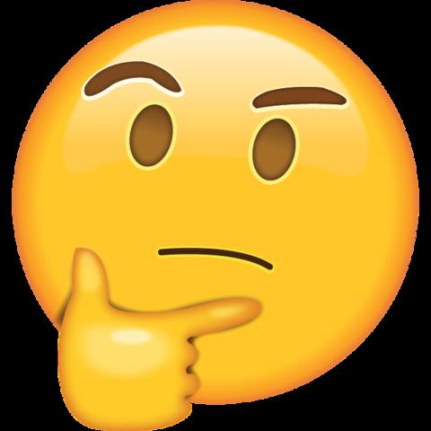 Emoji Pensativo Png Imagens E Moldes Com Br Emoticon
