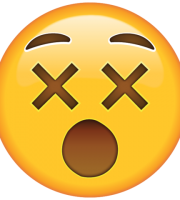 Emoji Rosto Tonto