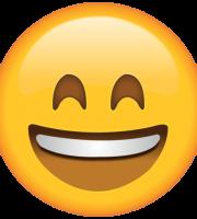 Emoji Sorrindo Muito