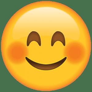 Emoji Sorriso Corado