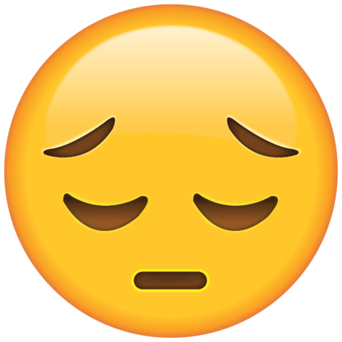 Emoji Triste Png Imagens E Moldescombr Emoticon Emoji