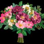 Flores – Buque de Flores Coloridas PNG