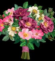 Flores - Buque de Flores Coloridas