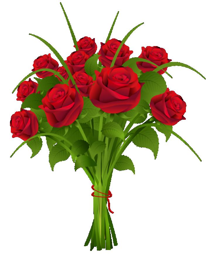 Flores Buque De Rosa Vermelha Png Imagens E Moldes Com Br
