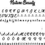 Fonte Nature Beauty para Baixar Grátis