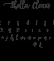 Fonte Shella Clean