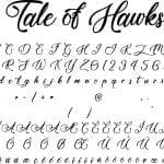 Fonte Tale of Hawks para Baixar Grátis