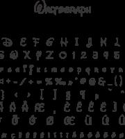 Fonte Waltograph