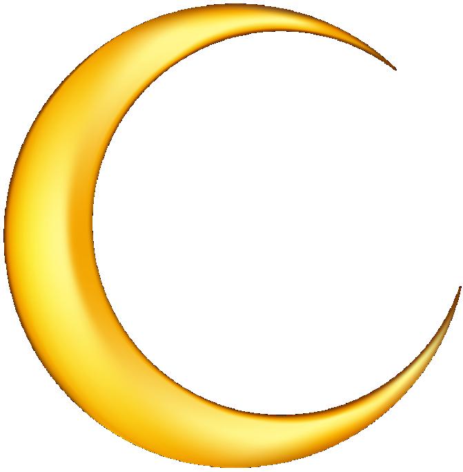 Imagem Lua Lua Crescente Pngimagens E Moldes Com Br