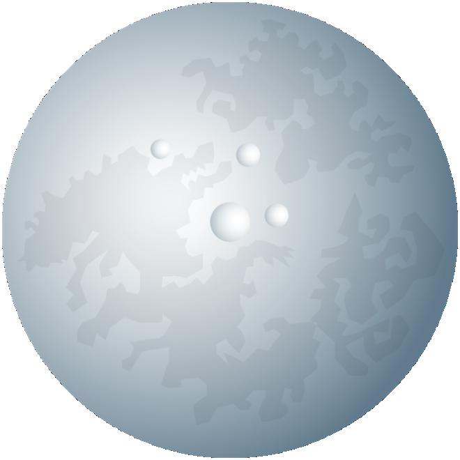 Imagem Lua Lua Realista 3 Png