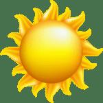 Imagem Sol – Sol Brilhando 3 PNG