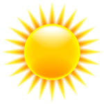 Imagem Sol – Sol Brilhando 4 PNG