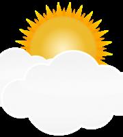 Imagem Sol - Sol entre Nuvens 2
