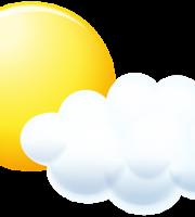 Imagem Sol - Sol entre Nuvens 4