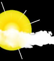 Imagem Sol - Sol entre Nuvens 5
