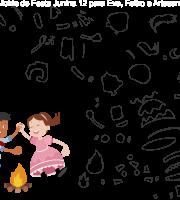 Molde de Festa junina 12 para Eva, Feltro e Artesanato