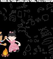 Molde de Festa Junina 20 para Eva, Feltro e Artesanato