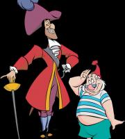Peter Pan - Capitão Gancho e Senhor Smeet