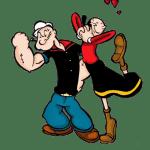 Popeye – Popeye e Olivia Palito 3 PNG