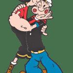 Popeye – Popeye e Olivia Palito PNG