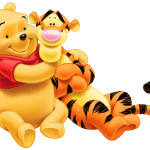 Ursinho Pooh – Ursinho Pooh e Tigrão PNG