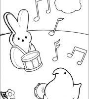 Arquivos Desenhos Infantis Para Imprimir Marshmallow Peeps