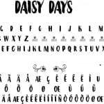 Fonte Daisy Days para Baixar Grátis