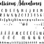 Fonte Delicious Adventures para Baixar Grátis