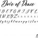 Fonte Dove of Peace para Baixar Grátis