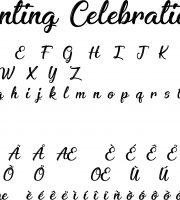 Fonte Enchanting Celebrations para Baixar Grátis