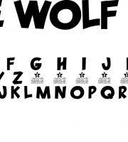 Fonte LONE WOLF para Baixar Grátis