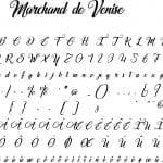 Fonte Marchand de Venise para Baixar Grátis