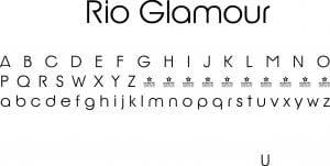 Fonte Rio Glamour para Baixar Grátis