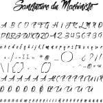 Fonte Sanctuaire du Machiniste para Baixar Grátis