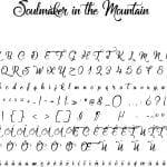 Fonte Soulmaker in the Mountain para Baixar Grátis